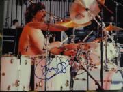 Carmine Appice Signed 8x10 Photo Drummer Legend