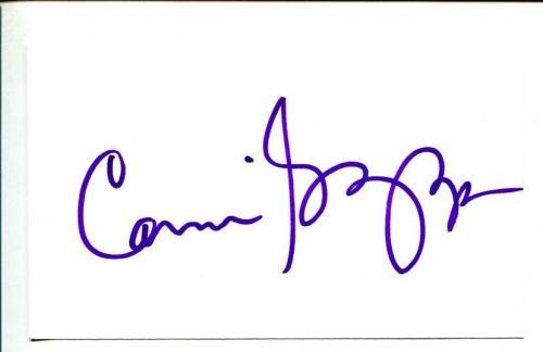 Carmine Giovinazzo CSI NY Black Hawk Down Shasta McNasty Signed Autograph