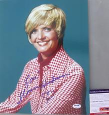 CAROL BRADY!!! Florence Henderson Signed THE BRADY BUNCH 11x14 Photo PSA/DNA