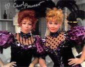 Carol Burnett autographed 8x10 photo (Comedian Actress) Image #SC9 with Lucille Ball