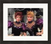 Carol Burnett autographed 8x10 photo (Comedian Actress) #SC9 with Lucille Ball Matted & Framed