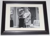 Carol Burnett Autographed 8x10 Photo (framed & Matted) - W/ Leonard Nimoy!