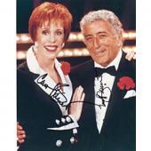 Carol Burnett & Tony Bennett Autographed 8x10 Photo