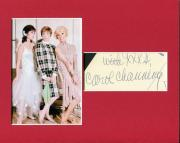 Carol Channing Signed Autograph Photo Display W Julie Andrews Mary Tyler Moore