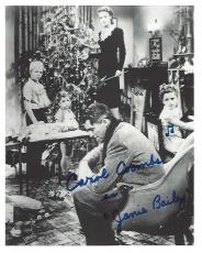 "CAROL COOMBS as JANIE BAILEY in 1946 CHRISTMAS CLASSIC ""IT'S A WONDERFUL LIFE"" Signed 8x10 B/W Photo"