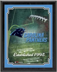 "Carolina Panthers Team Logo Sublimated 10.5"" x 13"" Plaque"