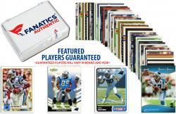 Carolina Panthers Team Trading Card Block/50 Card Lot