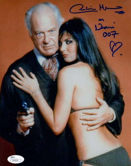 Caroline Munro Jsa Hand Signed James Bond 8x10 Photo Authentic Autograph
