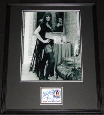 Caroline Munro Signed Framed 16x20 Photo Display RITTENHOUSE James Bond Girl