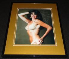 Caroline Munro Signed Framed 8x10 Photo AW James Bond Spy Who Loved Me