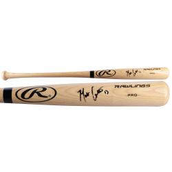 Matt Carpenter St. Louis Cardinals Autographed Big Stick Black Ring Bat - Mounted Memories  - Mounted Memories