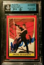 Carrie Fisher 1980 Topps Princess Leia AUTO Signed Autograph JSA/BGS Star Wars