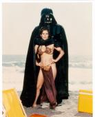 Carrie Fisher 8x10 photo (Star Wars Princess Leia) Image #2 Red Production Print Mark on Left Side
