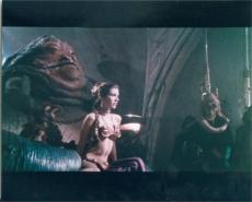 Carrie Fisher 8x10 photo (Star Wars Princess Leia) Image #3 Jabba Hut Slave Girl Outfit