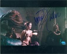 Carrie Fisher autographed photo (Princes Lea Star Wars) 8x10