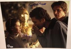 CARRIE FISHER & BILLY DEE WILLIAMS Signed STAR WARS ESB 16x20 Big PHOTO PSA DNA