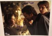 Carrie Fisher Billy dee Williams Star Wars signed Photo esb 16x20 psa dna coa