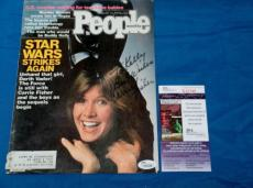 Carrie Fisher signed 8x10 People Magazine Cover Star Wars Personalized JSA COA