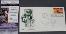 Carrie Fisher Signed FDC First Day Issue Cachet Envelope JSA COA Star Wars