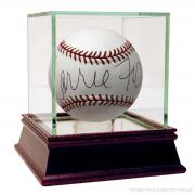Carrie Fisher Signed OMLB Baseball PSA/DNA