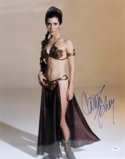 "Carrie Fisher Signed Star Wars ""princess Leia"" 16x20 Photo Psa/dna #z29166"