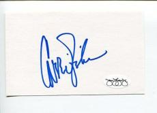 Carrie Fisher Star Wars Princess Leia Rare Signed Autograph JSA
