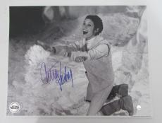 Carrie Fisher Star Wars Princess Leia Signed 11x14 Photo STEINER SS160971