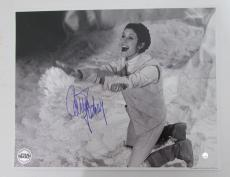 Carrie Fisher Star Wars Princess Leia Signed 11x14 Photo STEINER SS160993