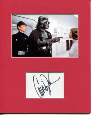 Carrie Fisher Star Wars Rare Princess Leia Signed Autograph Photo Display
