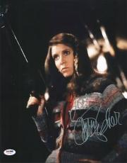Carrie Fisher Star Wars Signed 11X14 Photo Autographed PSA/DNA #U70780
