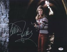 Carrie Fisher Star Wars Signed 11X14 Photo Autographed PSA/DNA #U70784