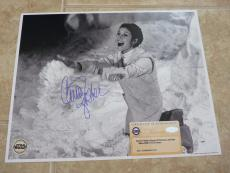 Carrie Fisher Star Wars Signed Autographed 11x14 Photo Steiner Certified #1