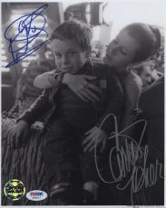 Carrie Fisher & Warwick Davis Star Wars Signed Autographed Photo Psa Dna Coa
