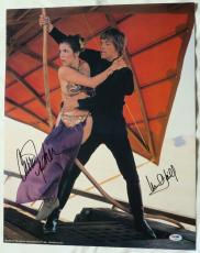 Carrie Fisher/Mark Hamill Signed Star Wars Auto 16x20 Photo PSA/DNA #AC08578