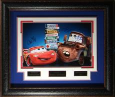 Cars 2 - Cast Autographed 11x17 Framed Poster