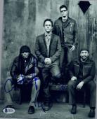 Carter Beauford & Boyd Tinsley Signed 8x10 Photo Dave Matthews Band BAS COA