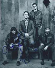 Carter Beauford & Boyd Tinsley Signed Autographed 8x10 Photo Dave Matthews Band