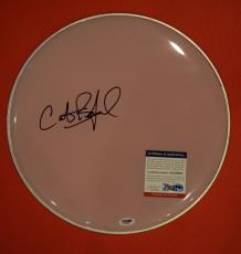 Carter Beauford Dave Matthews Band DMB Signed Autographed Drumhead PSA/DNA COA A