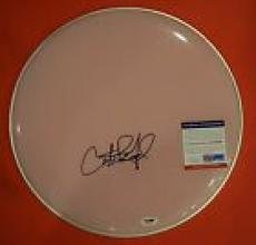 Carter Beauford Dave Matthews Band DMB Signed Autographed Drumhead PSA/DNA COA B