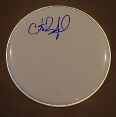 """Carter Beauford Dave Matthews Band Signed Autographed 12"""" Drumhead Exact Proof"""