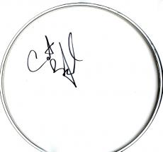 Carter Beauford Dave Matthews Band Signed DMB Drumhead AFTAL UACC RD COA