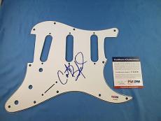 Carter Beauford Dave Matthews Band Signed Pick Guard PSA DNA COA Autograph