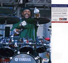 Carter Beauford Dave Matthews Drummer Signed 8x10 Photo PSA DNA COA Autograph