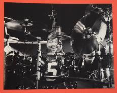 Carter Beauford Signed Autographed 11x14 Photo DMB Dave Matthews Band Drummer B