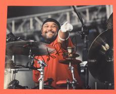 Carter Beauford Signed Autographed 11x14 Photo DMB Dave Matthews Band Drummer C