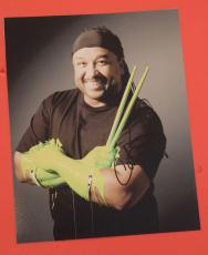 Carter Beauford Signed Autographed 11x14 Photo DMB Dave Matthews Band Drummer E