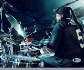 Carter Beauford Signed Autographed 8x10 Photo Dave Matthews Band Beckett BAS COA