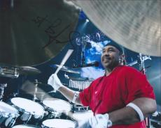 Carter Beauford Signed Autographed 8x10 Photo DMB Dave Matthews Band Drummer A