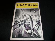 Carter Brown & Cindy Marvell Signed Auto Lazer Vaudeville Broadway Playbill C
