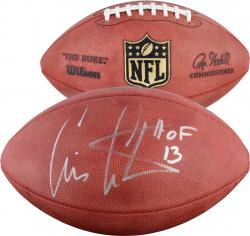 Cris Carter Minnesota Vikings Autographed Pro Football